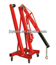 2TON FOLDING HYDRAULIC SHOP CRANE, HEAVY DUTY
