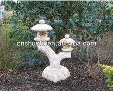 Cheap granite japanese garden lantern | garden lamp post