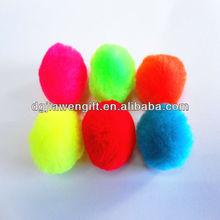 Popular Craft Supply 28mm Acrylic Pompom for Decoration