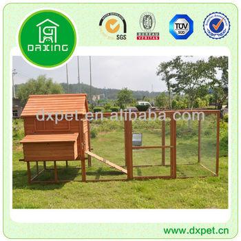 Wooden Large Run Chicken Houses (BV SGS TUV FSC)