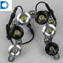 HOT Flexible LED Daytime Running Lights/1W* 5bulbs*2pcs 10w/ High luminance/universal flexible LED DRL