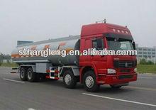 NEW! SINOTRUK HOWO 8x4 oil tank truck/fuel oil delivery trucks