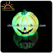 pumpkin shaped promotional plastic colorful led lights