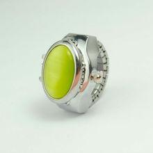 Cobblestones Diamond antique finger Ring watches,antique vogue watch,royal diamond watches