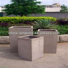 Deep Saucers Resin Square Pot Window Pot Box Delano Plant Pot Box QL-13113 Lowest Price