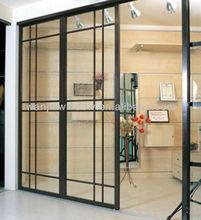 Office pvc sliding glass door grill design entrance door designs