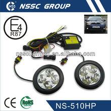 2013 9-32V high pwoer LED stroble light Round 4 Leds Daytime Running Lights