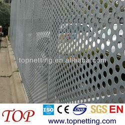 perforated metal mesh screen fencing/ security metal mesh fence panels