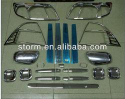 Sizzle Chrome car Accessories full set for 2005 Corolla Accessories