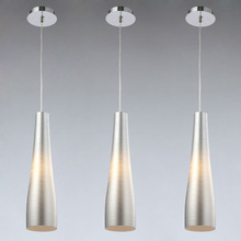 Modern acrylic pendant lamp with handmade and painting glass