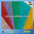 oblonga de nylon elástico de malla de tela para ropa interior y sujetador