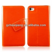 The latest global leather for iphone4/4s case following from pu leather