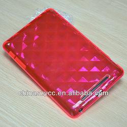 High Quality Colorful TPU Case,Transparent TPU Case For ipad mini