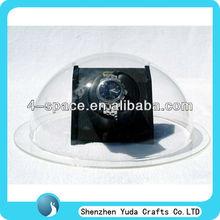 Acrylic plastic hemisphere 3 inch