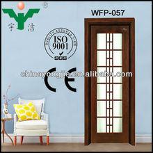 glass sliding door kitchen cabinet WFP-057