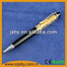 Plastic Promotion Liquid pen,Liquid floating pen,logo can be customized