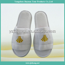 Five star disposable hotel open toe mans slippers