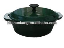 Enamel Coated Cast Iron Casserole/korea cookware