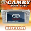 WITSON double din car dvd for TOYOTA CAMRY with USB port and iPod ready