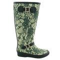 Moda para mujer baratos botas de agua de goma botas de montar