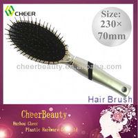 ABS plastic hair brushes HB079/plastic oval hair brush/cheap hair brush