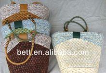 fashion corn straw bag