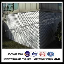 bending expanded metal mesh /raised bending expanded metal mesh/aluminum bending expanded metal mesh