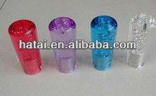 acrylic car shift knob,colored crystal knob