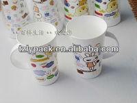 liyang heat transfer printing film for plastic cup