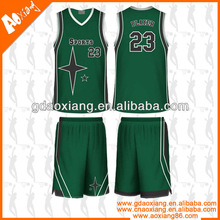 Latest design profesional league basketball uniform