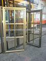 wanjia original da grade de ferro da janela porta de projetos