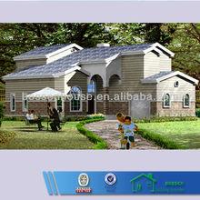 modern design steel structure prefab home design