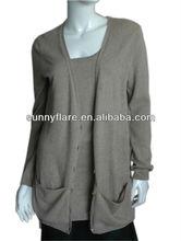 Ladies pure cashmere twin set