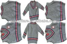 Children cashmere twin set
