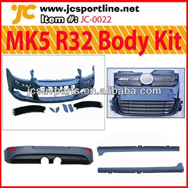 Body Kit Golf 5 For vw Golf v R32 Body Kit Mk5