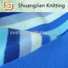 100% Polyester Printed Polar Fleece Fabric Bonded Dyed Polar fleece