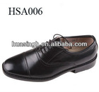 top quality genuine leather British fashion style police military shoes