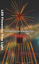 3.5M 24V Outdoor Waterproof LED Fireworks Tree Lighting || Chrismas Festival Crack Light