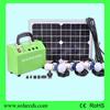 mini portable 10w led light solar power kit with 3 pcs led bulbs