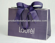 Custom texture Craft apparel paper bag