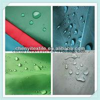 taffeta waterproof plaid raincoat fabric