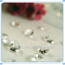 Artificial Clear Fake Diamond Decorations For Wedding Party