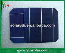 2012 High Efficiency Mono Solar Cell 6X6 Photovoltaic Cells Price Photovoltaic Cells For Sale