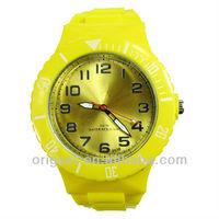 interchangable plastic watch customs logo dial watch
