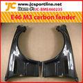 e46 m3 de fibra de carbono guardabarros de la puerta para bmw