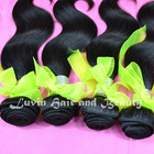 2014 Most popular factory price double weft unprocessed virgin black star hair