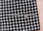high grade plaid printed wool fabric