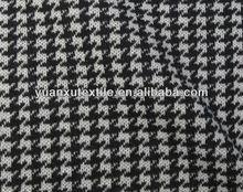 Swallow pattern printed wool coat fabric
