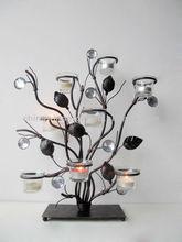 Metal swirl tree votive tealight candle holder metal christmas tree candle holder tealight lamp decorative art and craft
