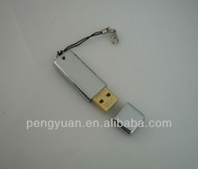 Rectangle metal usb pen drive gift with a cap (PY-U-538)